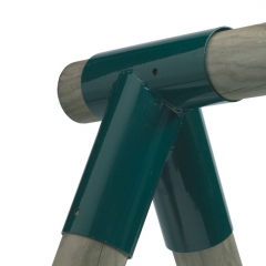 Schommelverbinder rond 100/100 mm