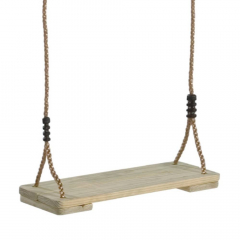 Schommelplankje van hout