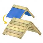 Uitbreiding van kunststof dak naar houten dak 89